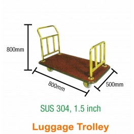 Wide Luggage Trolley