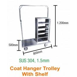 Coat Hanger Shelf Trolley