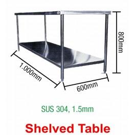 Shelved Table